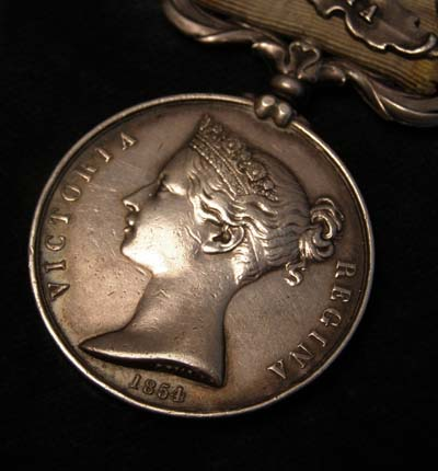Crimea Medal. 4 Clasps. Coldstream Guards. Killed in Action.