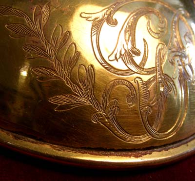 Waterloo Period Gorget | 1796 Universal Pattern | Museum Quality.