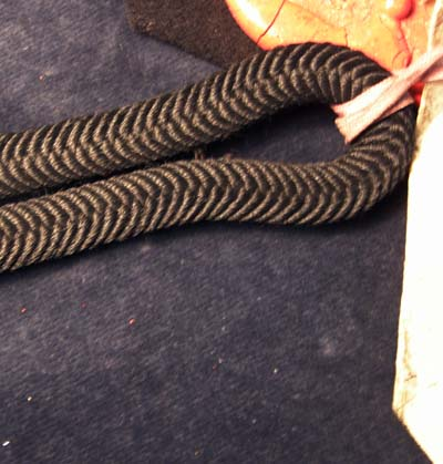 1901 War Office Pattern Piece for Rifle Brigade Officer's shoulder cord - Rare