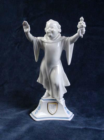 Allach Porcelain Munich Maiden