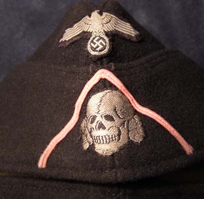 Waffen-SS Panzer OR/NCO Forage/Overseas cap