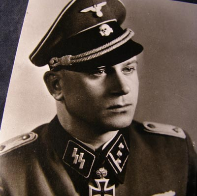 SS Officer Helmut Scholz  Waffen Ss Officer Color