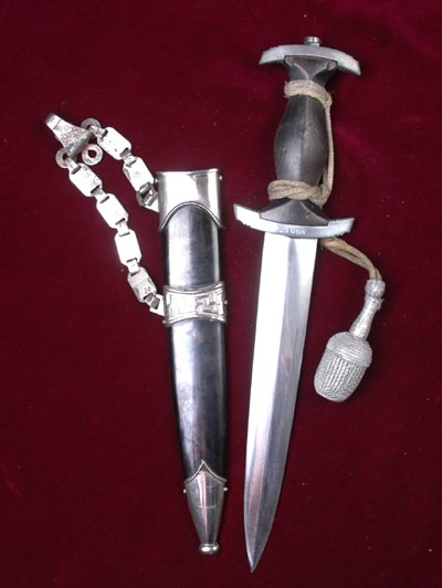 SS Chained Dagger |1936 Pattern | Low Membership Number.