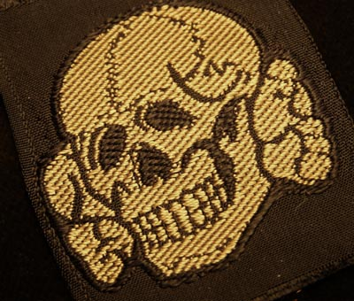 Waffen-SS 'Camo | Tropical' Cap Skull | BeVo Woven