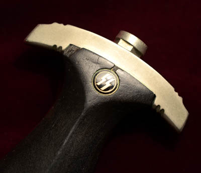 SS Chained Dagger | 1936 Pattern | Type 2 | Solid Nickel-Silver Fittings.