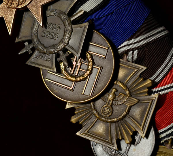SS General Frank Medal Group | Provenance | Museum Quality