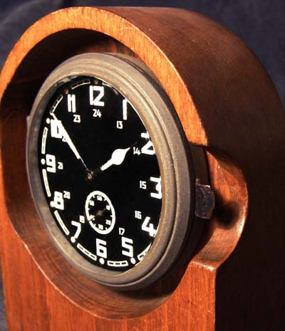 Heer Duty Clock by Kienzle 1943 Dated.