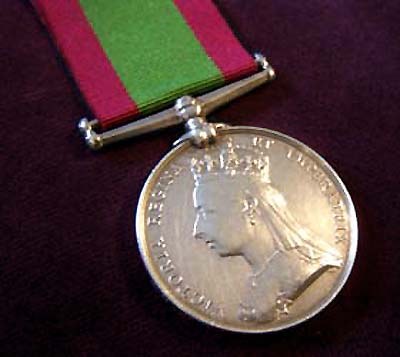 Afghanistan Medal 1878-1880. 85th Regt. Foot (Shropshire). Private Wallam.