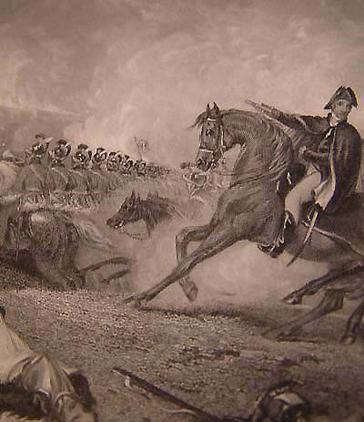The Decisive Charge at Waterloo by engraver Peter Lightfoot