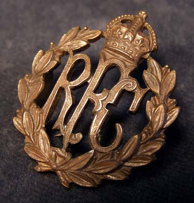 RFC Cap Badge Insignia By Gaunt.