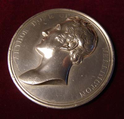 Wellington Medallion, Festival of Chelmsford 1841