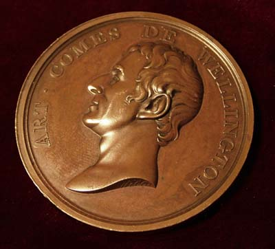 Wellington Medallion, 'Votre Publica'