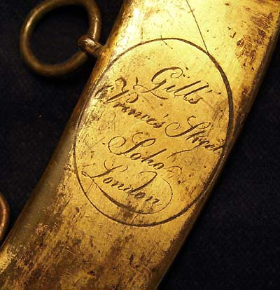 Napoleonic Royal Navy Midshipman's Dirk By Gill's of London