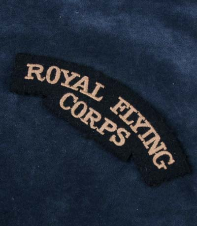 Royal Flying Corps Insignia. Shoulder Title.