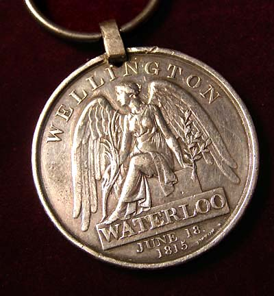Waterloo Medal. Royal Welsh Fusiliers. 23rd Regiment of Foot.