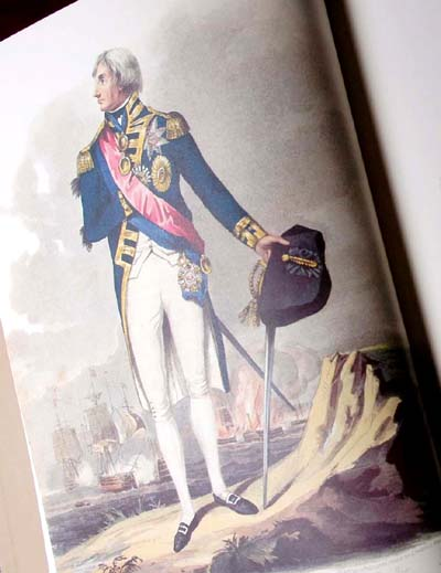 Napoleonic British Naval Achievements - Limited Edition Facsimile of the 1816 edition by Sim Comfort