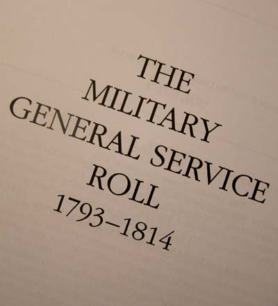 Military General Service Medal Roll. Softcover.