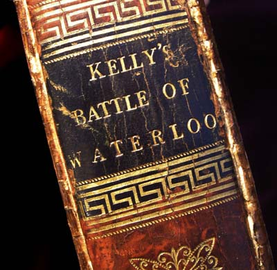 Kelly's Battle of Waterloo - Rare Original 1816 Publication Complete With Map