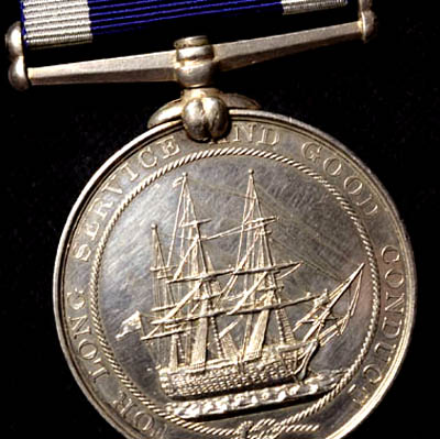 Naval Long Service & Good Conduct Medal |HMS Duke of Wellington
