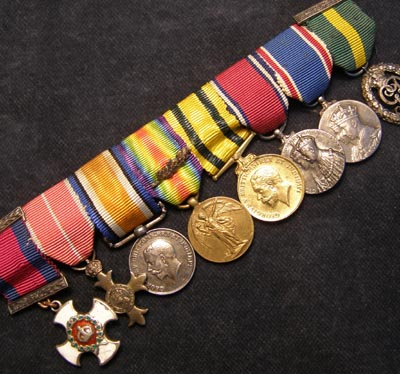 DSO/OBE Miniature Medal Group.