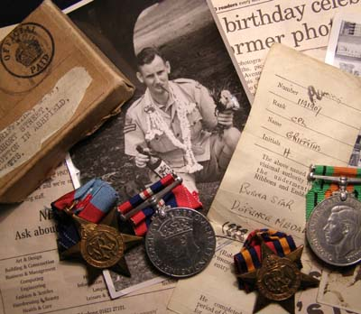 RAF Medal Group. Boxed + Ephemera. Photographer.