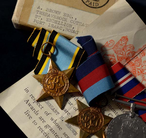 RAF Medals | Killed In Action| Sgt. Air Gunner.