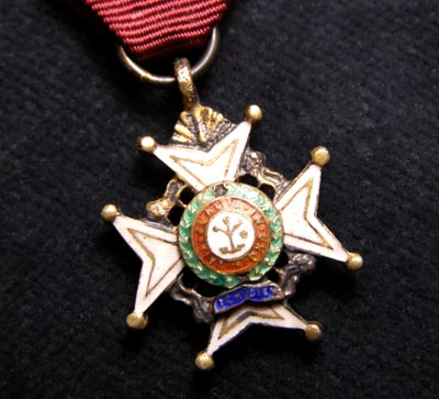 Order Of The Bath Miniature Medal.