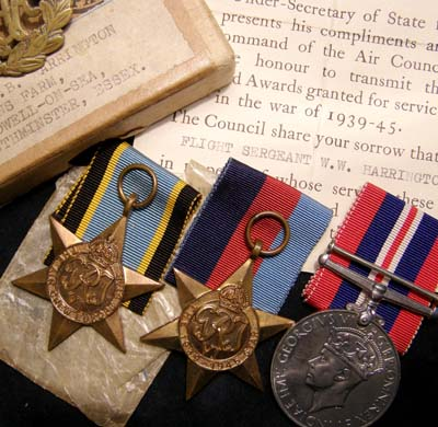 RAF Medals. Killed In Action. 460 Squadron.