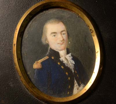Naval Portrait Miniature | Naval Engineer | Lord Dundonald | Circa: 1810.