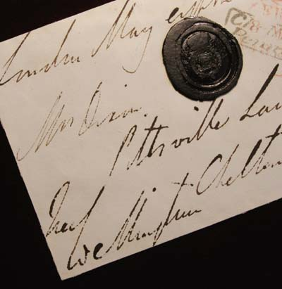 Wellington Signature + Wax Seal.