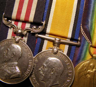 WWI Military Medal & Pair. York & Lancaster Regiment.