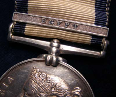 Naval General Service Medal |Egypt Clasp | Midshipman.