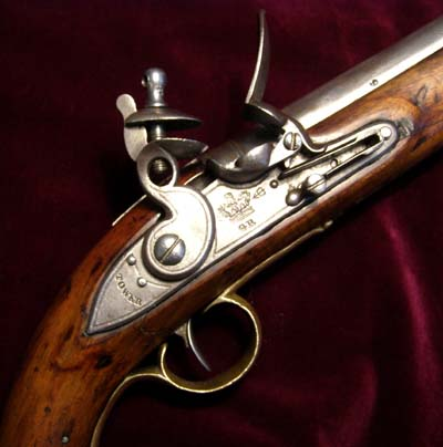 Napoleonic 1802 New Land Light Dragoon Pistol.