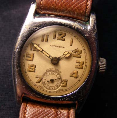 WW2 'Aeroplane'  Watch.  Brevet 155825.