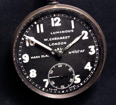 Royal Flying Corps Watch  By Ehrhardt. MK.IVa.