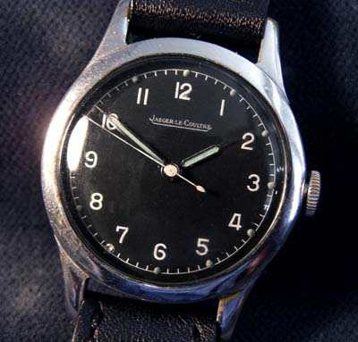 RAF Watch By Jaeger Le Coultre. 6B/159. WW2.