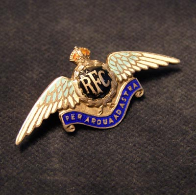 RFC 'Sweetheart' Brooch. Silver.