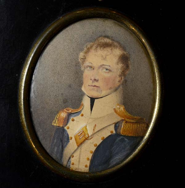 Portrait Miniature | Captain Booth | 11th Light Dragoons.