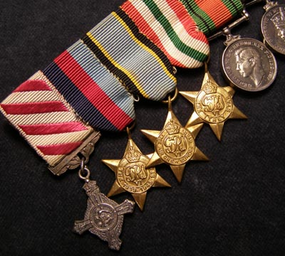 AFC/Air Crew Europe Miniature Medal Group. Attributed.
