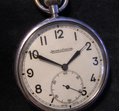 British Army Pocket Watch By Jaeger LeCoultre.. '6E / 50'.