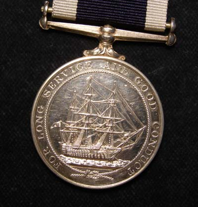 Naval Long Service & Good Conduct Medal - Nuclear Submarine Interest