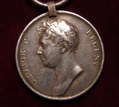 Waterloo Medal. 32nd Regiment of Foot.
