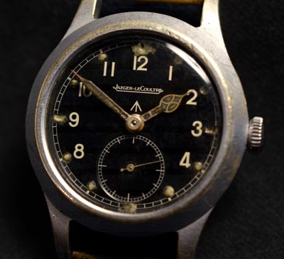 Dirty Dozen British Army Watch By Jaeger Le Coultre.