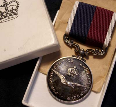 RAF Medal | Long Service | Good Conduct Medal | Boxed