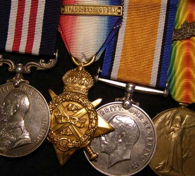 WWI Military Medal & Trio, Bar & MID. Royal Engineers