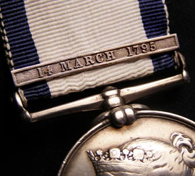 Naval General Service Medal |14 March 1795 Clasp