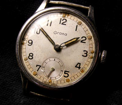WW2  Grana Watch.  ATP British Army Contract.