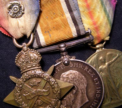 1914 Star Medal Trio. Royal Army Medical Corps