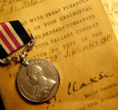 WWI 'First Day Somme' Military Medal & General Maxse Gallantry Parchments. Norfolk Regt.