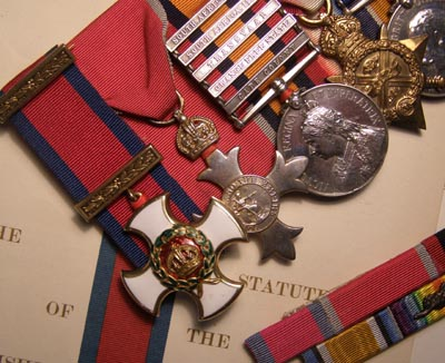DSO Medal Group | Royal Engineers | Lieut-Colonel